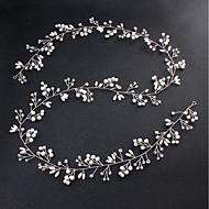 Legura Štras Kristal Umjetni biser Metalik 1pc Vjenčanje Special Occasion Glava