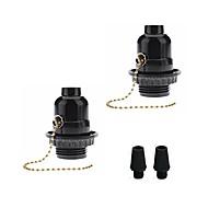 billige Lampesokler og kontakter-OYLYW 2pcs E26 / E27 Bulb Accessory Lysstikkontakt Plast