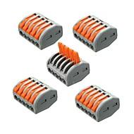 billige belysning Tilbehør-ZDM® 5pcs Strip Light Tilbehør Plast Elektrisk kontakt