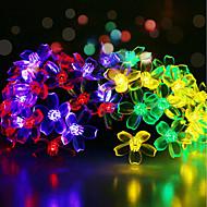 お買い得  LEDライトストリップ-GMY® 6m ストリングライト 50 LED 6Mストリングライト / 1セット取付金具 マルチカラー 装飾用 <5 V 1セット / IP65
