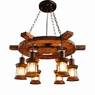 Недорогие -Подвесные лампы Потолочный светильник - Мини, Ретро, 110-120Вольт 220-240Вольт Лампочки не включены