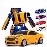 hesapli Robotlar, Canavarlar ve Uzay Oyuncakları-Robot Oyuncak Arabalar Oyuncaklar Araba Klasik Tema transformable Çocuklar için Parçalar