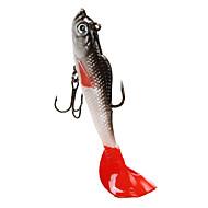 """cheap Fishing-4 pcs Soft Bait Jigs Jig head Fishing Hooks Fishing Lures Soft Bait Jigs Jig Head Shad Soft Jerkbaits g / Ounce, 85 mm / 4"""" inch, Soft"""