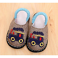 お買い得  男の子用靴-男の子 靴 繊維 春 秋 コンフォートシューズ スリッパ&フリップ・フロップ のために カジュアル Brown グリーン