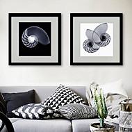 billige Innrammet kunst-Dyr abstrakt Tegning Veggkunst,PVC Materiale med ramme For Hjem Dekor Rammekunst Stue Kjøkken Spisestue Soverom Kontor Barnerom