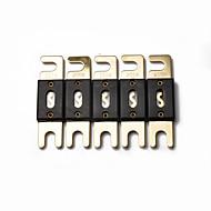 billiga Bilstereo-5 st x högkvalitativ guldpläterad 200 amp 200a bil audio anl säkring (5 / pack) ny