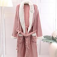 billige Badekåper-Fersk stil badekåpe, solid overlegen kvalitet 100% bomull 100% polyesterhåndkle