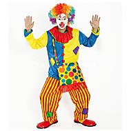 Burlesk/Klovn Cirkus Cosplay Kostumer Festkostume Voksne Karneval Festival / Højtider Halloween Kostumer Regnbue Farveblok Sjov og