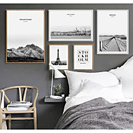 cheap Framed Arts-Landscape Wall Art,PS Material With Frame For Home Decoration Frame Art Living Room