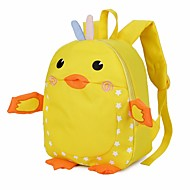 お買い得  子供用バッグ子供バッグ-子供用 バッグ キャンバス バックパック ポケット のために カジュアル オールシーズン ルビーレッド ピンク パープル イエロー フクシャ