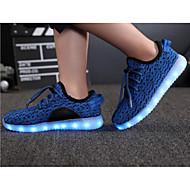 abordables Chaussures pour Fille-Fille Chaussures Tulle Printemps / Automne Confort pour Vert / Bleu / Rose