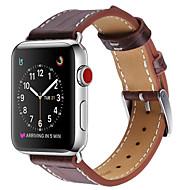billiga Smart klocka Tillbehör-Klockarmband för Apple Watch Series 3 / 2 / 1 Apple Modernt spänne Läder Handledsrem