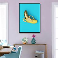 baratos Quadros com Moldura-Comida Ilustração Arte de Parede,PVC Material com frame For Decoração para casa Arte Emoldurada Sala de Estar Interior