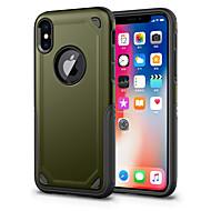 ケース 用途 Apple iPhone X iPhone 8 耐衝撃 バックカバー 純色 ハード PC のために iPhone X iPhone 8 Plus iPhone 8 iPhone 7 Plus iPhone 7 iPhone 6s Plus iPhone 6s