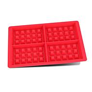 billige Bakeredskap-Bakeware verktøy silica Gel baking Tool Pai / For Terte Rektangulær Pieverktøy 1pc