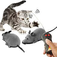 hesapli Kedi Oyuncakları-Uzaktan Kumandalı Hayvan Zabawka Mouse Evcil Hayvan Dostu Hayvanlar Köpekler ya da Diğer Evcil Hayvanlar İçin Zararsızdır Hediye Hepsi