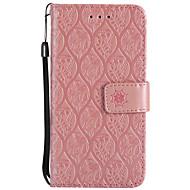 billiga Mobil cases & Skärmskydd-fodral Till LG K8 LG LG K10 LG K7 V20 K10 (2017) Korthållare Plånbok med stativ Lucka Läderplastik Fodral Blomma Hårt PU läder för LG X