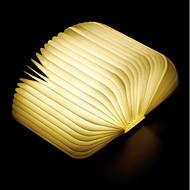 1pc Bestil LED Night Light Varm Hvid Indbygget Li-batteridrevet Foldbar Genopladelig Dekorativt lys Med USB-port Nemt at bære