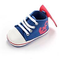 ec57f2c2506 Αγορίστικα Παπούτσια Ύφασμα Άνοιξη Ανατομικό / Πρώτα Βήματα / Παπούτσια  Αγκαλιάς Αθλητικά Παπούτσια Λουράκι για Μαύρο / Βαθυγάλαζο