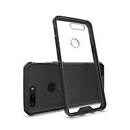 billiga Mobil cases & Skärmskydd-fodral Till OnePlus 5 / OnePlus 5T Stötsäker / Genomskinlig Skal Enfärgad Hårt Akrylfiber för One Plus 5 / OnePlus 5T / One Plus 3T