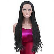 Umělé vlasy paruky Rovné Africké copánky Paruka s copánky Afroamerická paruka Přírodní vlasová linie Se síťovanou přední částí Přírodní