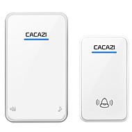 billige Tilgangskontrollsystem-cacazi a8 trådløs dørklokke 48 melodier musikkvolum justerbar dc brukerhåndbok kinesisk