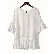 Bluza Žene Jednobojni Flare rukav