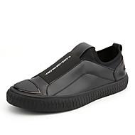 Muškarci Cipele PU Proljeće Jesen Udobne cipele Sneakers za Kauzalni Zlato Crn Crvena