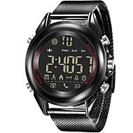 tanie Inteligentne zegarki-Inteligentny zegarek Współpracuje z iOS i system Android. Spalone kalorie Powiadamianie o wiadomości Powiadamianie o połączeniu