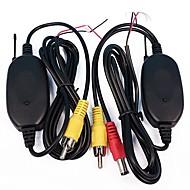 billiga Parkeringskamera för bil-ziqiao 2.4ghz trådlös rca av video sändare mottagare för bakifrån kamera kamera övervaka auto dvd mp5 spelare