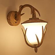 billige Vegglamper-Øyebeskyttelse Land Vegglamper Soverom Harpiks Vegglampe 220-240V