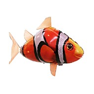 cheap -RC Shark Remote Control Animal Flying Shark Clown Fish Inflatable Realistic Movement Air Swimmer PP+ABS 1 pcs All Boys' Girls' Toy Gift