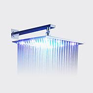 hesapli Duş Başlığı-Çağdaş Yağmur Duşları Krom özellik-Yağmur Duşu LED , Duş başlığı