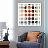 billige Innrammet kunst-Abstrakt Mennesker Tegning Veggkunst,Plastikk Materiale med ramme For Hjem Dekor Rammekunst Stue