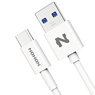 cheap -Type-C USB Cable Adapter Quick Charge Cable For Samsung Huawei LG Nokia Lenovo Motorola Xiaomi HTC 100 cm PVC