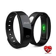tanie Sprzęt i akcesoria fitness-Fitness Tracker HR / Monitor pracy serca / Monitor aktywności Tracker / Smart Fitness Band Wodoodporny, Krok licznik, Średnie tętno, Licznik kalorii Bieganie, Fitness, Siłownia iOS Ekran LED Angielski