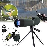 25-75x70 varredura à prova d'água zoom monocular bak4 visando escopo com tripé suporte de telefone observação de pássaros