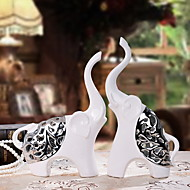 cheap Decorative Objects-2pcs Ceramic Modern/ContemporaryforHome Decoration, Collectibles