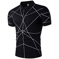 Polo Muškarci Geometrijski oblici Kragna košulje Pamuk