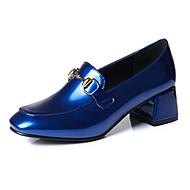 Žene Cipele PU Proljeće Jesen Udobne cipele Inovativne cipele Cipele na petu Kockasta potpetica Zakovica za Zabava i večer Ured i karijera