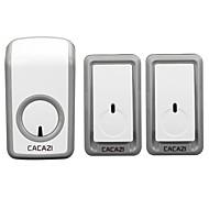 billige Dørklokkesystemer-W-899 Trådløs To til en dørklokke Musikk / Ding dong Lydjusterbar Overflate Montert Ringeklokke