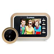 billige Dørtelefonssystem med video-Danni ni q8 2,4-tommers bevegelsesdeteksjon kamera video elektronisk kattens øye dørklokke overvåking kamera video og andre funksjoner