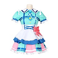 cheap Anime Cosplay-Inspired by Love Live Other Anime Cosplay Costumes Cosplay Suits Other Short Sleeves Dress Socks Bow More Accessories Tie For Men's
