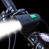 billige Sykkellykter og reflekser-Baklys til sykkel Frontlys til sykkel LED LED Sykling Sæt Oppladbart Batteri 1200 Lumens Oppladsbare batterier Hvit