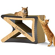 Χαμηλού Κόστους Παιχνίδια για γάτες-Catnip Μπλοκ για ξύσιμο νυχιών Πολυτέλεια Φιλικό προς τα Κατοικίδια Πολύχρωμο Μπλοκ για ξύσιμο νυχιών Χωρίς Paraben Χαρτί Τέχνης Χαρτόνι