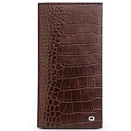 billiga Mobil cases & Skärmskydd-fodral Till Huawei Mate 9 Pro Mate 8 Korthållare Plånbok Stötsäker Lucka Fodral Ensfärgat Hårt Äkta Läder för Huawei Mate 8 Mate 9 Mate 9