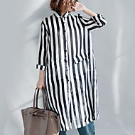 Majica Žene-Osnovni Dnevno Prugasti uzorak Print