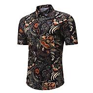 Majica Muškarci-Vintage Boho Izlasci Praznik Cvjetni print Geometrijski oblici Print