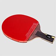 tanie Tenis stołowy-DHS® Hurricane WANG CS Rakietki do ping ponga / tenisa stołowego Drewniany / Włókno węglowe / Gumowy Krótki uchwyt / Pryszcze Krótki uchwyt / Pryszcze