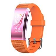 tanie Inteligentne zegarki-Inteligentny zegarek Spalone kalorie Krokomierze Kontrola APP Anti-lost Pomiar ciśnienia krwi Pulse Tracker Krokomierz Rejestrator